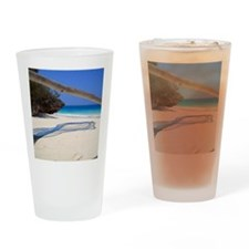 Morning scene on Nungwi Beach. Drinking Glass