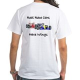 Real Race Cars Have Wings Indy x2 Shirt