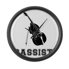 Bassist-01-a Large Wall Clock