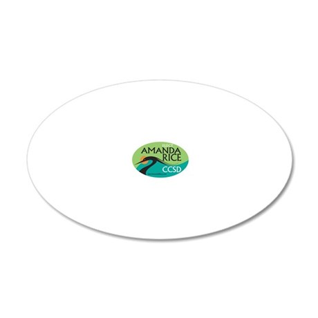Oval Design 20x12 Oval Wall Decal