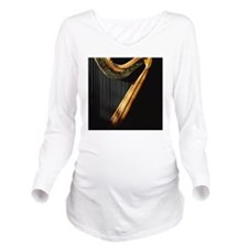 Harp in sunlight Long Sleeve Maternity T-Shirt