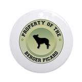 Berger Property Ornament (Round)