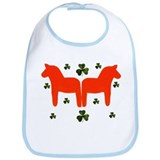"""Irish and Swedish life""Bib"