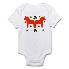 """Irish and Swedish baby"" Infant Bodysuit"