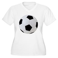 Soccer Ball with  T-Shirt