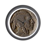 Indian Head Nickel Wall Clock