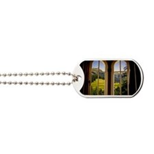 Dream view through window Dog Tags