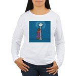 Dachshund Vamp Women's Long Sleeve T-Shirt
