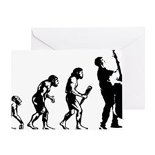 Evolution-Man-05-a Greeting Card