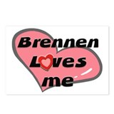 brennen loves me  Postcards (Package of 8)