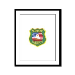San Benito Sheriff Framed Panel Print
