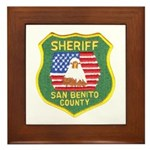 San Benito Sheriff Framed Tile