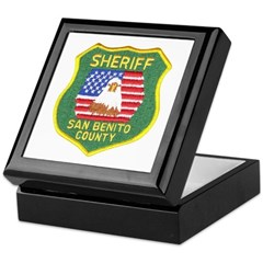 San Benito Sheriff Keepsake Box
