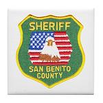 San Benito Sheriff Tile Coaster