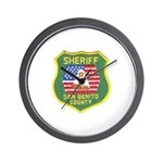 San Benito Sheriff Wall Clock