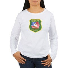 San Benito Sheriff Women's Long Sleeve T-Shirt