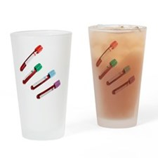 Blood samples Drinking Glass