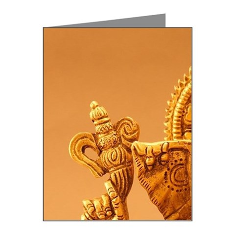Statue of Lord Ganesh Note Cards (Pk of 10)