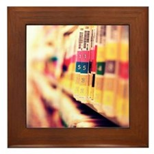 Medical files Framed Tile
