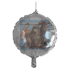 Orangutan on O-line Balloon