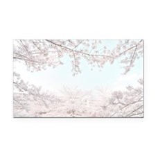 cherry blossoms Rectangle Car Magnet