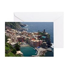 Monterosso al Mare Greeting Card