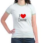 I Love Dostoevsky Jr. Ringer T-Shirt