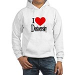 I Love Dostoevsky Hooded Sweatshirt