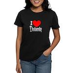 I Love Dostoevsky Women's Dark T-Shirt