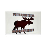 White Mountains , New Hampshi Rectangle Magnet (10