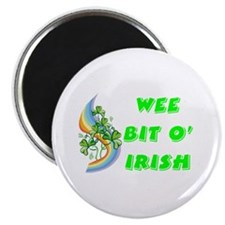 "Wee Bit O' Irish 2.25"" Magnet (10 pack)"