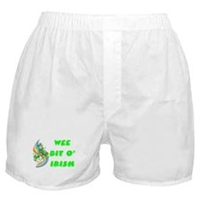 Wee Bit O' Irish Boxer Shorts