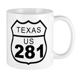 Texas US 281 Highway Mug