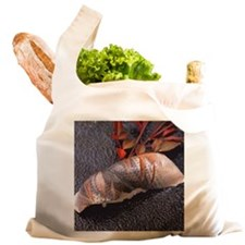 Kohada, hand shaped sushi Reusable Shopping Bag