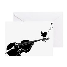 Song-Bird-01-a Greeting Card
