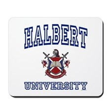 HALBERT University Mousepad
