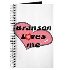 branson loves me Journal