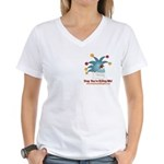 SYKM Women's V-Neck T-Shirt