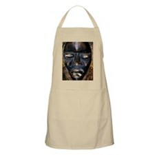 Close-up of a Voodoo mask Apron