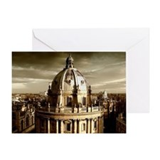 Radcliffe Camera view from Universit Greeting Card