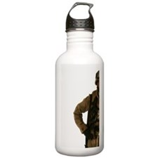 Studio shot of male so Water Bottle