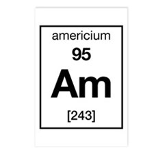 Americium Postcards (Package of 8)