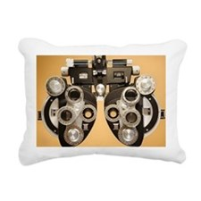 Optometric instrument Rectangular Canvas Pillow