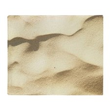 Sand texture Throw Blanket