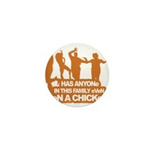 Chicken Dance Mini Button