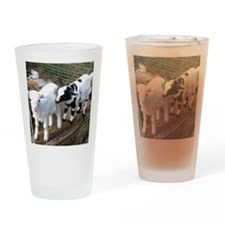 kids at play Drinking Glass