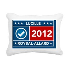 Lucille Roybal-Alllard Rectangular Canvas Pillow