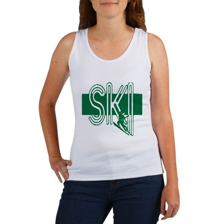 Ski Green Women's Tank Top