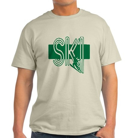 Ski Green Light T-Shirt