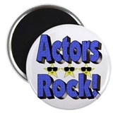 Actors Rock! Magnet